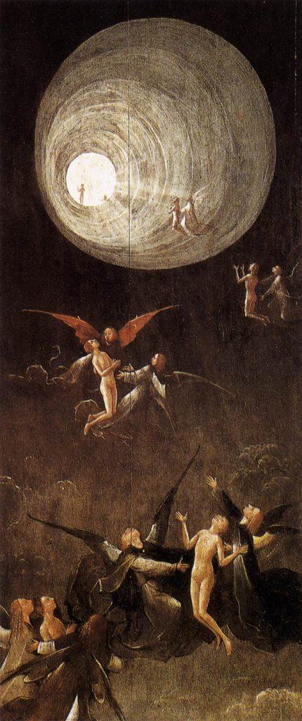 Иероним Босх, Восхождение в Эмпирей