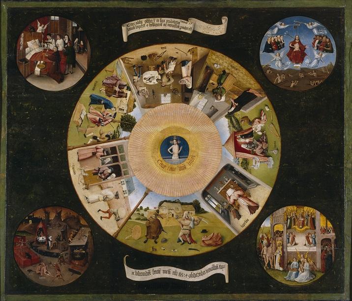 Иероним Босх, Семь смертных грехов